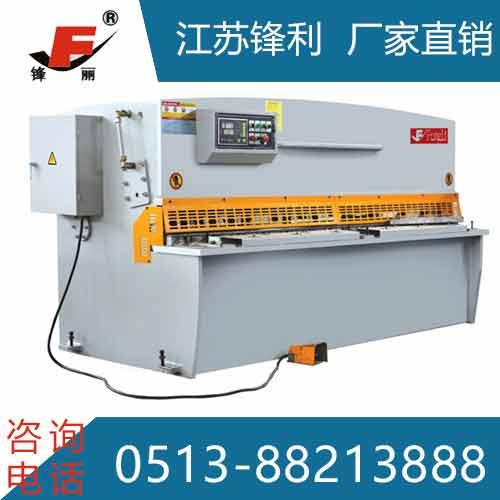 威海QC12K数控摆式剪板机